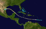 1887 Atlantic hurricane 9 track.png