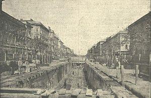 1896-17 vasút építkezés Klösz György