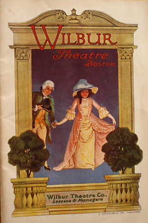Wilbur Theatre - Image: 1915 Wilbur Theatre Boston program Dec 6