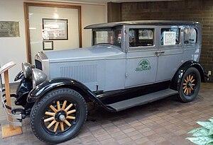 Willard Lamb Velie - 1927 Velie Model 50 Standard Sedan