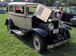 Chevrolet International Serie AC Limousine (Coach) (1929)