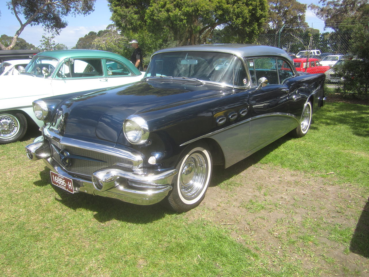 File 1956 buick 40 special 2 door wikimedia for 1956 buick special 2 door