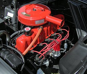 280px 1962_Ford_Falcon_2 door_wagon_170_six_engine 1 ford straight six engine wikipedia