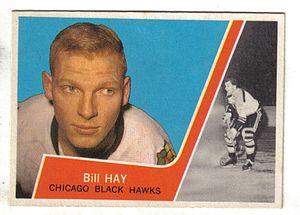 Bill Hay - Image: 1963 Topps Bill Hay