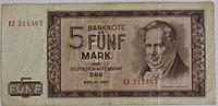 1964 5-Mark-Note DDR Alexander-von-Humboldt VS.JPG