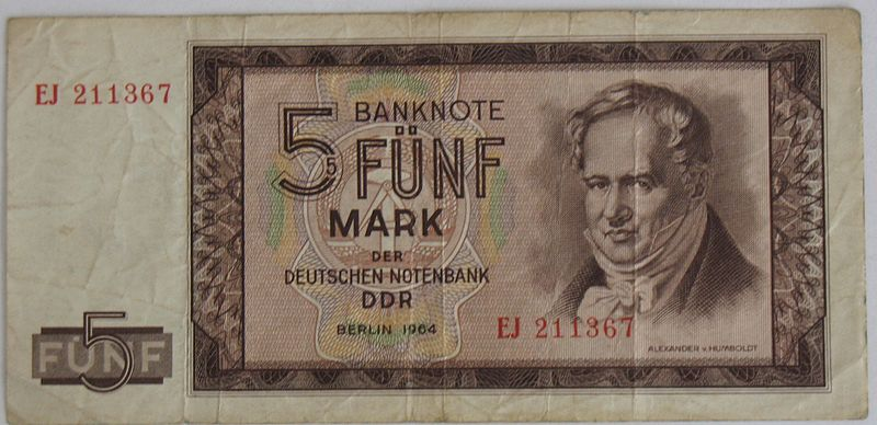 File:1964 5-Mark-Note DDR Alexander-von-Humboldt VS.JPG