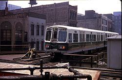 Chicago Quot L Quot Rolling Stock Wikipedia
