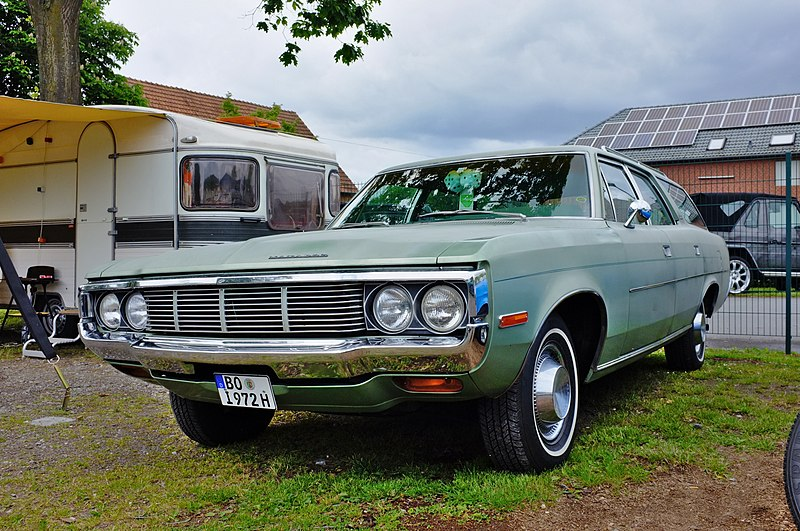 File:1972 AMC Matador Wagon in Germany green (38698559724).jpg