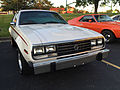 1980 AMC Spirit DL in white at AMO 2015 meet 1of3.jpg