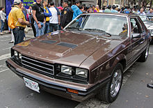 1983 Ford Mustang Coupé Mexican Market Version