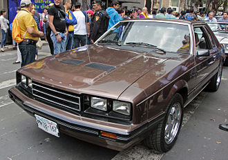 Mercury Capri - 1982-1983 Ford Mustang coupé, Mexican market version