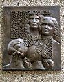 1986 Reliefplatte Ulrike Enders Minnehof Misburger Forsthaus Rathaus Carl von Beaulieu-Marconnay Henriette Gräfin von Egloffstein Julie.jpg