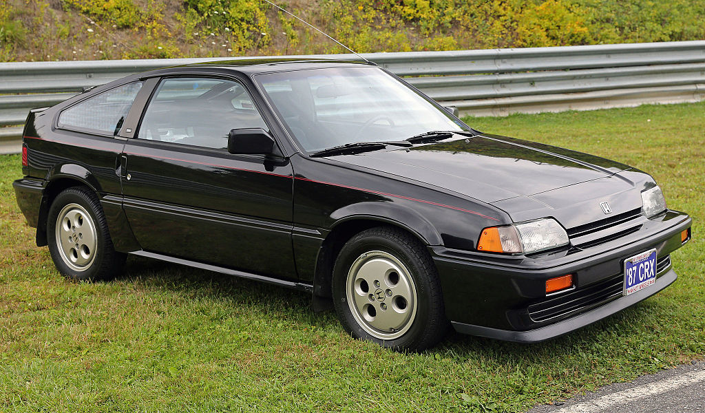 File:1987 Honda CRX Si, front right (Lime Rock).jpg - Wikimedia Commons