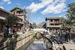 Old city Channels in Lijiang