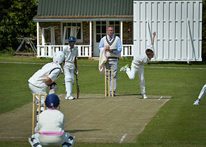 Brambletye School - 1st Team Cricket on the Top Field
