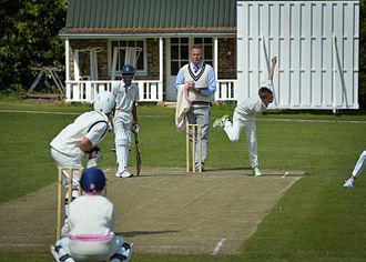 Brambletye School - 1st Team Cricket on the Top Field
