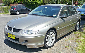 2001 Holden VX Commodore Equipe HBD sedan (2009-12-09).jpg