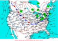 2003-01-20 Surface Weather Map NOAA.png