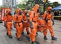 20030425한국종합무역센터 대테러 훈련 예행 연습 사본 - 오염환자구조1.jpg