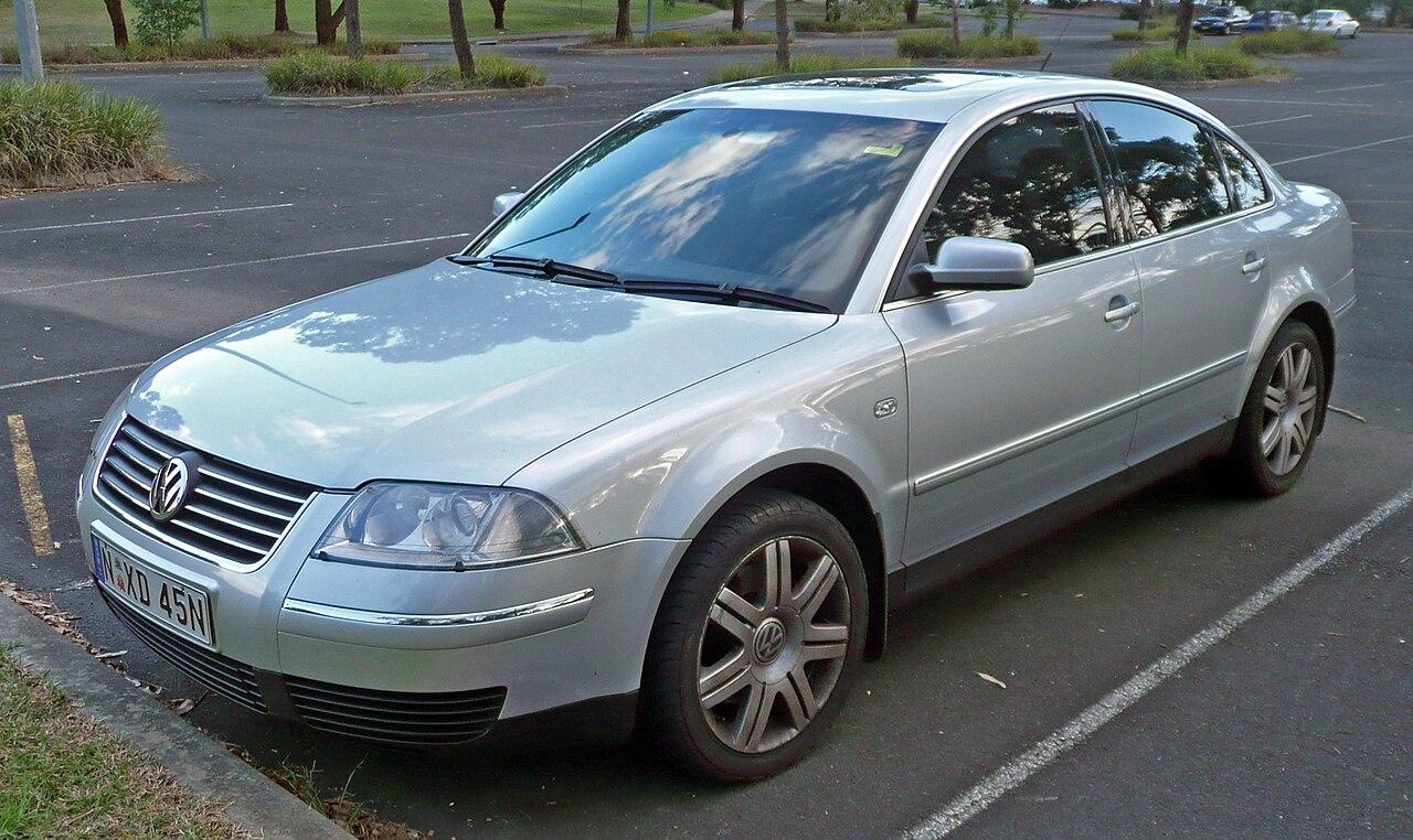 File 2003 Volkswagen Passat 3bg My03 Se V6 Sedan 2010