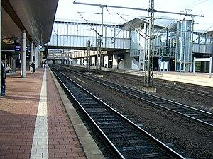 Kassel-Wilhelmshöhe station - Platform in Kassel-Wilhelmshöhe