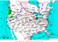 2005-04-17 Surface Weather Map NOAA.png