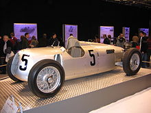Photo d'une Auto Union Type C.