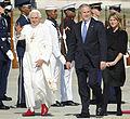 20080415-Benedict XVI George W. Bush 2008-04 hires 080415-F-9629D-122b.jpg