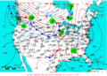 2009-02-25 Surface Weather Map NOAA.png