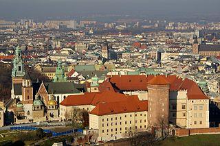 Dzielnica I Stare Miasto Kraków District in Lesser Poland Voivodeship, Poland