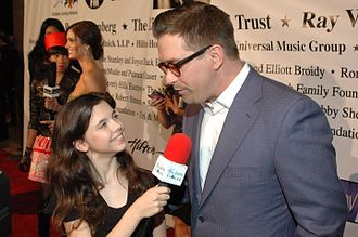 Stephen Baldwin - Baldwin talks on the red carpet of a Children Uniting Nations party, 2009