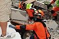 2010년 중앙119구조단 아이티 지진 국제출동100119 몬타나호텔 수색활동 (452).jpg