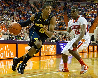Darius Morris - Morris for the Michigan Wolverines in 2010.