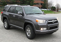 MY2010 Toyota 4Runner SR5 (US)