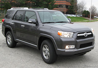 Toyota 4Runner car model