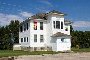 National Register of Historic Places listings in Kandiyohi County, Minnesota - Image: 2012 0828 District No 55School