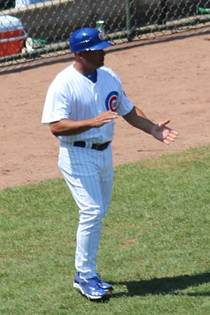 Pat Listach - as 2012 Chicago Cubs 3rd base coach