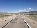 2014-06-11 14 47 43 View east along Interstate 80 from around milepost 351 in Wells, Nevada.JPG