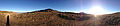 2014-10-19 07 37 43 Panorama west towards Big Smokey Valley, north towards the south summit of Mount Jefferson, and east towards Meadow Canyon from Jefferson Summit Road at Jefferson Summit, Nevada.JPG