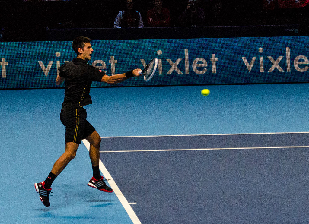 Novak Djokovic (Wikimedia)