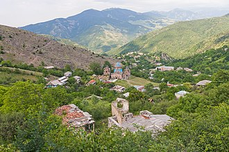 Gosh, Armenia - Image: 2014 Prowincja Tawusz, Gosz, Widok na wioskę (01)
