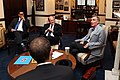 2014 Senator Coons meets with Bill Nye the Science Guy in chairs.jpg