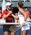 2014 US Open (Tennis) - Tournament - Barbora Zahlavova Strycova and Ashleigh Barty (14909558268).jpg