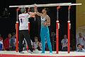 2015 European Artistic Gymnastics Championships - Parallel bars - Ferhat Arican 01.jpg