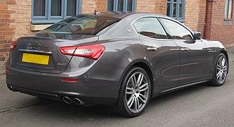 Maserati Ghibli (M157) - Ghibli V6 (UK model)