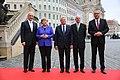 2016-10-03 Stanislaw Tillich, Angela Merkel, Joachim Gauck (Tag der Deutschen Einheit 2016 in Dresden) by Sandro Halank–23.jpg