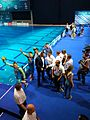 2017 European Diving Championships - 3m Springboard Synchro Men - Awarding Ceremony 09.jpg