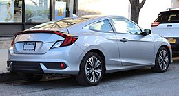 2017 Honda Civic EX-T coupe rear 1.21.19.jpg