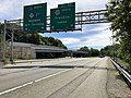 2018-07-21 11 34 35 View north along Interstate 287 at Exit 59 (New Jersey State Route 208 SOUTH, Franklin Lakes) in Oakland, Bergen County, New Jersey.jpg