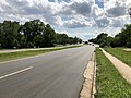 2018-07-29 15 52 16 View west along Virginia State Route 846 (Sterling Boulevard) at Virginia State Route 1419 (Poplar Road) in Sterling, Loudoun County, Virginia.jpg